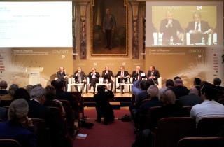 Podium beim Vienna Congress com.sult 2015