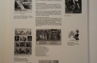 Bilder und Text von Robert Eichert zum historischen Kampf von Frauen für ihr Wahlrecht