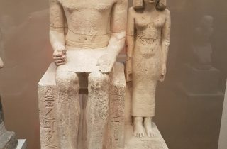 Ehepaar aus der 5. Dynastie ca. 2465 - 2438 v.Ch., Metropolitan Museum, NYC